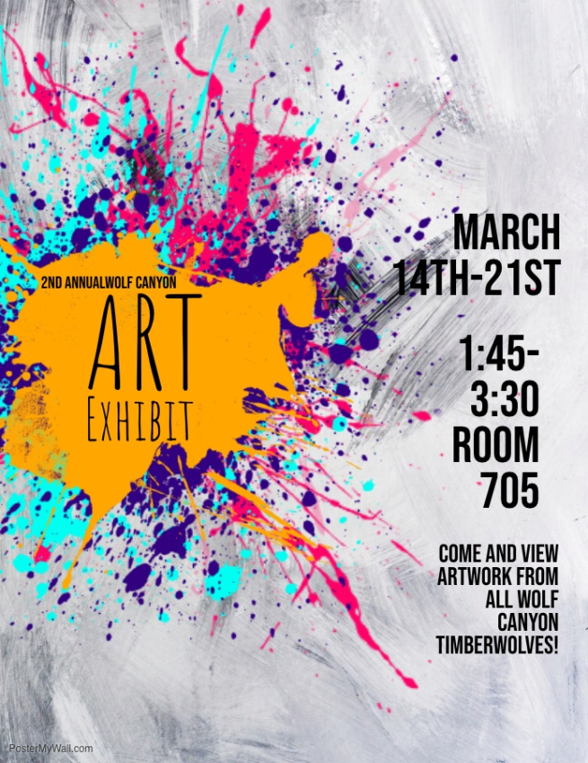 Copy of Art Showcase Flyer - Made with PosterMyWall copy